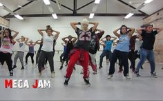 'Partition' Beyonce choreography by Jasmine Meakin (Mega Jam)