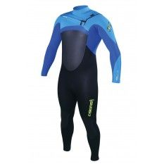 C-Skins Kids Legend Front-Zip 5/4/3mm Black Blue