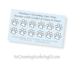 Dog grooming business advertising and marketing templates and forms for pet groomers in a kit