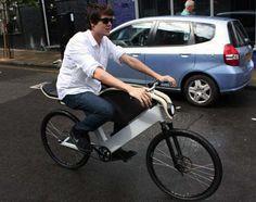 Раскладной двухколесных транспортных средств : умный городской велосипед