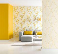 Tapeten Wohnzimmer Gelb. full size of moderne huser mit gemtlicher ...