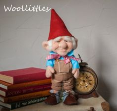 Hey, I found this really awesome Etsy listing at https://www.etsy.com/listing/233302446/needle-felted-gnome