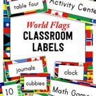 Create+a+print-rich+classroom+with+250++world+flag+labels+and+signs!+  Labeling+common+objects+in+English+is+a+great+way+to+boost+literacy+skills+i...