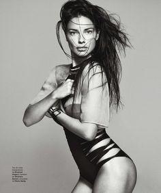 Adriana Lima - Harper's Bazaar España, February 2014