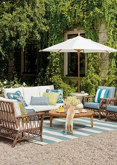 Our Myla Seating Collection bring the laid-back vibes of a coastal retreat to any outdoor setting. All-weather resin wicker is intricately handwoven in an open looped pattern around durable powdercoated aluminum frames. Double-wrapped foam core cushions are upholstered in 100% solution dyed and woven fabric.