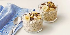 Overnight Chilled Oats with Chia