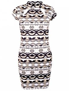 Fashion Ladies Aztec Glod Foil cut out chest Dress Get the latest womens , men , kids fashion online at fashion-wholesalers.co.uk. With new styles every day from dresses, onesies, heels, coats, shop womens clothing now! with option of dropshippment of the customers