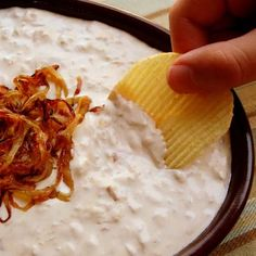 Maui Onion Dip – you'll never onion make dip from a little pouch again.
