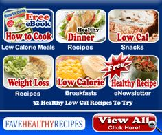 Free eCookbook: How to Cook Low Calorie Meals: 32 Healthy Low Calorie Recipes To Try
