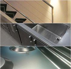 fotomontaje con trabajos en acero realizados por aisimas acero inoxidable inox aisimas