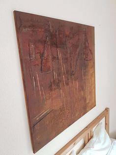 Aryl+Kunst+Acrylmalerei+Abstrakt+Leinwand+Keilrahmen+80+x+80++cm+Struktur+2