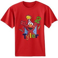 Elmo First Birthday T Shirt