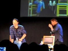 JIB4 Supernatural Con in Rome 2013 - Jensen and Misha Panel PART 2
