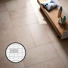 Esittelemme kaikki laattojen ladontamallit | Meillä kotona Tile Floor, Flooring, Texture, Crafts, Image, Surface Finish, Manualidades, Tile Flooring, Wood Flooring