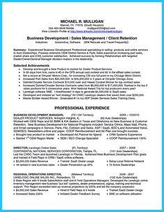 auto sales manager resume job description