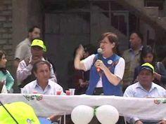 Alcaldesa de Lima entregó modernas losas multideportivas a vecinos de Huaycán en Ate