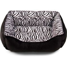 Soft Spot Cuddler Pet Bed, x Zebra Print Pet Beds, Dog Bed, Basic Colors, Zebra Print, Chihuahua, 21st, Walmart, Camo Stuff, Dogs