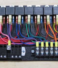 how to make a power relay fuse block automotive wiring youtube rh pinterest com Automotive Wiring Plugs Automotive Wiring Diagrams
