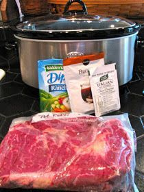 Rita's Recipes: Savory Crock Pot Roast
