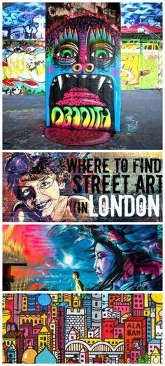 London Street Art: Best Places to Find it (& The Banksys) London Blog, London Art, Modern Metropolis, London Street, Skate Park, Street Art, Wanderlust, The Incredibles, History