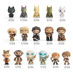 Game of Thrones Blind Box Vinyl Figures