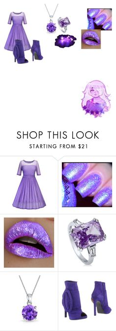 """""""steven universe spring formal"""" by getjinxed205 on Polyvore featuring BERRICLE, Bling Jewelry and EDMUNDO CASTILLO"""