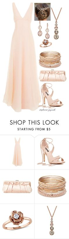 """""""Ariene's Dress for Meg and Carlisle's Wedding"""" by stephanie-jozwiak ❤ liked on Polyvore featuring Emilia Wickstead, Nina, Red Camel, Amour, Karen Millen and Givenchy"""