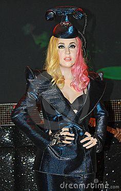 Wax statue of Lady Gaga, celebrity and singer. Image taken at the Madame Tussauds museum at London, UK. #LadyGaga