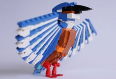 LEGO Bird, LEGOs, Thomas Poulsom, toys, LEGO CUUSOO http://inhabitat.com/thomas-poulsom-makes-wonderful-north-american-birds-using-lego-bricks/