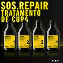 KIT KEEF S.O.S REPAIR TRATAMENTO DE CURA