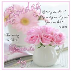Lekker Dag, God Is, Goeie More, Afrikaans Quotes, Day Wishes, Morning Quotes, Place Cards, Place Card Holders, Messages