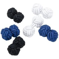 Men's Cufflinks Inc Basic Nautical Knot Cufflinks