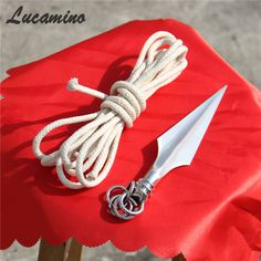 2017 New Sale Wushu Rope Dart Cold Weapon Stainless Steel Gun For Tousheng Soft Martial Arts Rope darts Equipment seldom knives