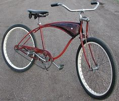 1953 Schwinn Ballooner Rat Rod Bicycle