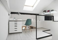 home office / CPR Residence by +R