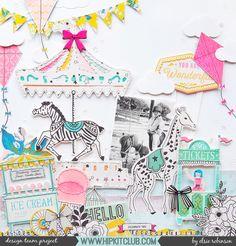 Elsie Robinson   @hipkitclub   Crate Paper Maggie Holmes Carousel