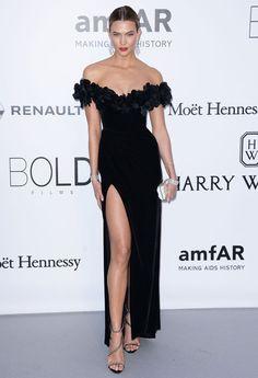 Karlie Kloss au gala de l'AmfAR