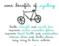 Biking benefits