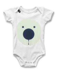 Baby Onesie PHOSPHOR BEAR Onesies, Baby Onesie, Lemur, Kids, Clothes, Collection, Fashion, Baby Overalls, Young Children
