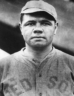Babe Ruth on the Red Sox