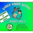 Introduction Place Value Scoot is a fun and active way for the students to work with place value. Place Value Scoot is also a great way to assess t...