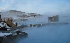 Mývatn Nature Baths.  Very scenic & tranquil.