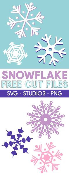 free snowflake svg cut file - perfect for winter vinyl and paper crafting - works with silhouette and cricut