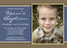 LDS Baptism Invitations idea    #LDSTemple #LDSBaptism #LDS