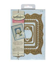Spellbinders Nestabilities Labels 40 Decorative Accents Dies