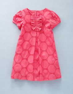 Cute little girl dress - here's hoping Nichole has a girl! =]