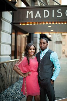 Lauren + Anthony: Memphis Engagement Session - Munaluchi Bridal Magazine