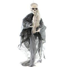 Halloween Hanging Animated Skeleton Halloween Decor