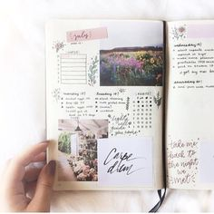 "Bullet journal inspiration (@bujoiinspo) on Instagram: ""I'm sorry I haven't posted in sooo long :( but here is a super cute spread from @lauriewrites ✨"""