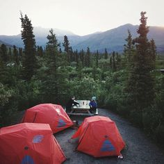"""1,835 Me gusta, 26 comentarios - Alex Strohl (@alexstrohl) en Instagram: """"Yesterday's #campvibes at Tombstone Territorial park. Amazing set up for @polerstuff rad tents!…"""""""